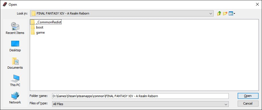 Ffxivexplorer extract guide 01-settings.jpg